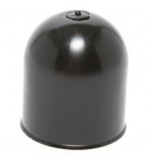Tow Ball Cover Plastic Black 70MM X 50MM Towing Caravan Trailer    PH915
