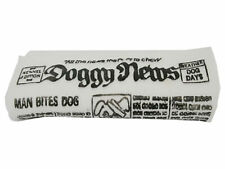 Doggy News Dog or Puppy Newspaper Toy with Squeaky Sound Chew Safe Vinyl VT0115