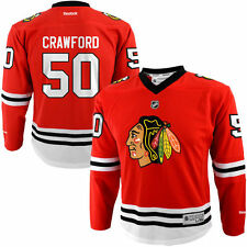 Corey Crawford Chicago Blackhawks Youth L / XL 16-20 NHL Replica Jersey Red