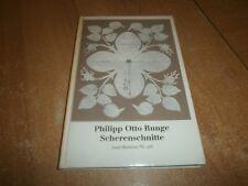 Philipp Otto Runge Scherenschnitte 1977 (89)
