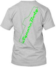 Squarebody Classics Round 2 Neon Green - Square Body Hanes Tagless Tee T-Shirt