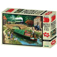 Rail & Canal Kevin Walsh Nostalgia Collection Super 3D Puzzles 500 Pieces