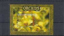 Canouan Granadinas St Vincent 2011 Mnh orquídeas Ii 1v S/s Flores phaius flavus/A