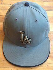 LOS ANGELES DODGERS x NEW ERA 59 Fifty Hat (Size 7 1/2) Green Black LA Logo NEW
