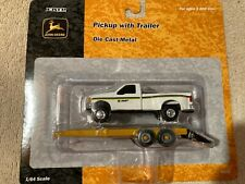 Ertl John Deere Pickup with Trailer #15152  2001 1:64