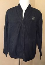 New NWT NIKE Tennis Vented Black Zip Up Jacket  67% OFF Retail XL Extra Large