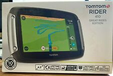TomTom Rider 410 Great Rides Edition GPS Motorcycle SAT NAV World Maps