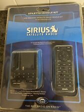 Sirius Satellite Radio Stiletto Vehicle Kit New Sealed Slv1