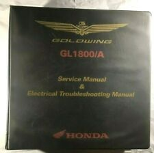 OEM HONDA GL1800 2006-2009 SERVICE AND ELECTRICAL TROUBLESHOOTING MANUAL SET