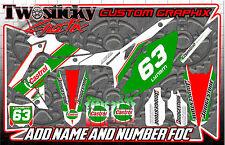 Honda CRF 125/150/250/450 Motocross MX Gráficos Pegatinas todos los años