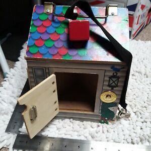 🐞Melissa and doug Key Wooden doorbell House-sensory🐞