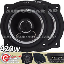 420w Vibe Slick 5 V3, 5.25'' 210w 2 way Coaxial Car Var Door Speakers Set. Pair