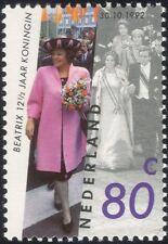 Netherlands 1992 Queen Beatrix/Royalty/Royal/Coronation/People 1v (n19213)