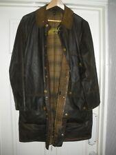 Vtg 60s Barbour Jacket  Yellow Label Solway Zipper + Belt & Hood RARE 40/42