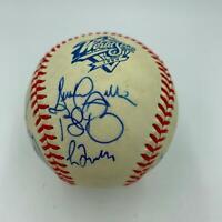 1999 Atlanta Braves NL Champs Team Signed Official World Series Baseball PSA DNA