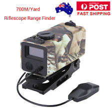 Waterproof Laser Range Finder Riflescope Sight Rifle Scope OLED 300KM/H 700meter