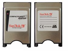 SanDisk CF To PCMCIA Adapter PC CompactFlash ATA PC Card TO CF For CNC GE Fanuc