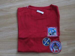 Kids Boys DOLCE&GABBANA D&G Red T-Shirt Top 7/8 yrs years Short Sleeve