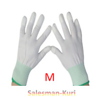 DE Lager ! 1 Paar Antistatik - ESD Handschuhe Größe M Schutz vor Eigenladung