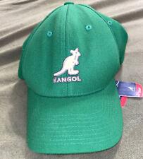 Kangol Wool Span (8650HW) Baseball Cap Hat Flexfit OSFA ONE SIZE FOREST GREEN