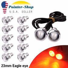 12X Red Eagle Eye 23mm High Power 5730 Car Reverse Backup LED Light New 12V 9W
