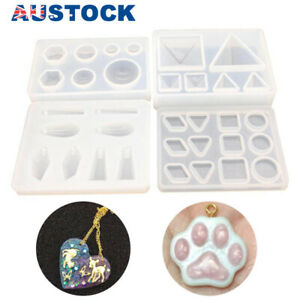 Silicone Pendant Mould Jewelry Making Necklace Mold Craft DIY Resin Supplies