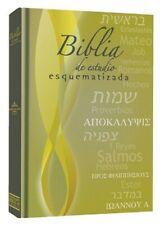 Biblia de Estudio Esquematizada Reina Valera 1960 ( Tapa Dura)