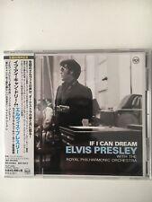 ELVIS PRESLEY IF I CAN DREAM JAPAN CD SEALED