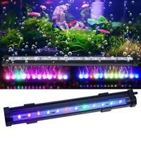 DC 12V LED Aquarium LED Bubble Light Fish Tank Air Bubble Lamp Multi-color Lamp