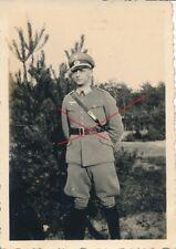 Nr.14972 Foto PK Deutsche Soldat Offizier  Schirmmütze Widmung