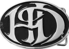 Harley-Davidson Womens Ladies Night H-D Black Enamel Background Buckle by LODIS