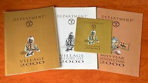 Department 56 Village 2000 Product Catalogue Soft Cover Bundle 56.97421
