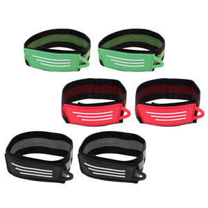 1 Pair Bicycle Ankle Leg Strap Cycling Bike Pants Band Leg Clip Strap With the