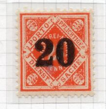 Wurttemberg 1923 December Early Issue Fine Mint Hinged 20pf. Surcharged 291085