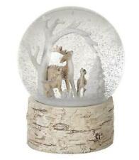 Heaven Sends Christmas Scene Winter Deer Snow Globe - Christmas Gift Idea