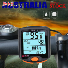 Cycling Bike Bicycle LCD Cycle Computer Odometer Speedometer Waterproof