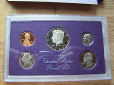 1987 United States Mint Proof Set,  Original packaging box with COA