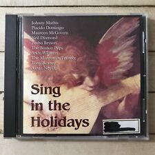 Sing In The Holidays CD 2002 Sony Music Special Various Artists