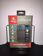NEW Pelican Voyager Case & Holster Samsung Galaxy S 5 Active (Black)