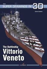 Kagero Super Drawings in 3D 49: The Battleship Vittorio Veneto