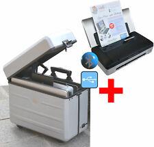 Mobile Compact Beautiful: Printer hp 100 + Comfy System Case Parat Pilotencase