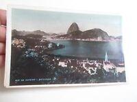 Vintage RP Colour Tinted Postcard BOTAFOGA Rio De Janeiro Brazil