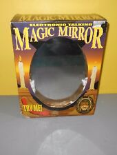 2001 Kids America Animated Witch Halloween Magic Mirror Motion Sound Activated