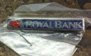National Mutual Royal Bank pin badge