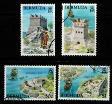 Bermuda 1982 Forts Fortifications SG453-56 Used