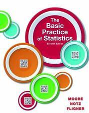 The Basic Practice of Statistics 7th Ed. Moore-Notz-Fligner New Hardback Copy