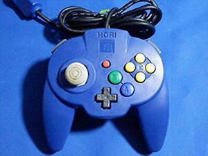 Used Hori Pad Mini Blue for Nintendo 64 N64 Game Controller Good Condition Japan