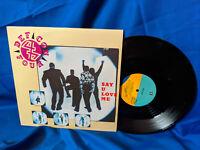 """Def Con 4/Four 12"""" Single Say U Love Me Reprise Promo PRO-A-3718 1990"""