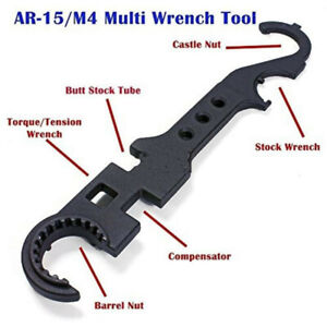 Combo Wrench Tactial Heavy Duty Multi Purpose Tool for A-R-15 / M-4 Hand Tools