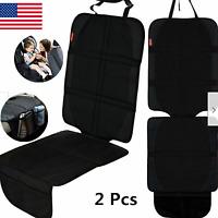 Car Seat Protector Child Infant Pet 2 Pack Automotive Backseat Cover Mat Durable
